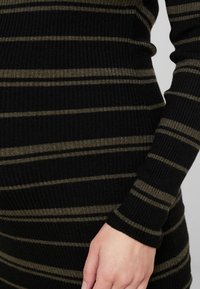 Ripe - JENNA DRESS - Fodralklänning - black/olive - 6
