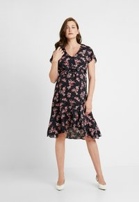 Ripe - TIE FRONT DRESS - Sukienka letnia - multi-coloured - 1