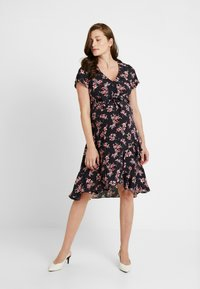 Ripe - TIE FRONT DRESS - Sukienka letnia - multi-coloured - 0