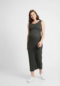 Ripe - NURSING DRESS - Sukienka z dżerseju - charcoal marle - 1