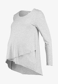 Ripe - RAW EDGE NURSING - Långärmad tröja - silver - 4