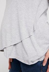 Ripe - RAW EDGE NURSING - Långärmad tröja - silver - 5