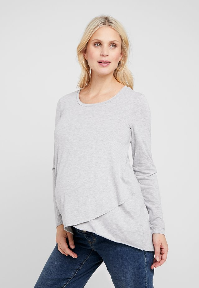 RAW EDGE NURSING - Longsleeve - silver