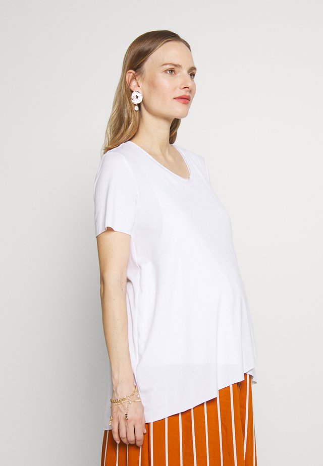 SHORT EDGE NURSING  - Basic T-shirt - white