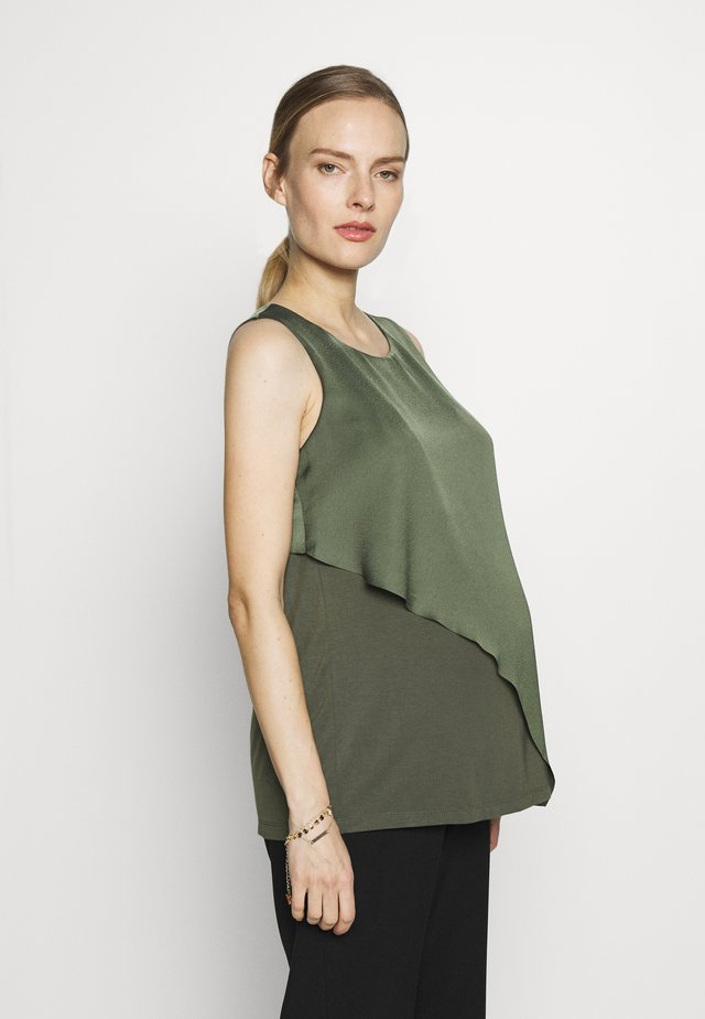NURSING TOP - Blouse - olive