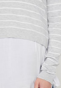 Ripe - NURSING - Pullover - silver marle/white - 4