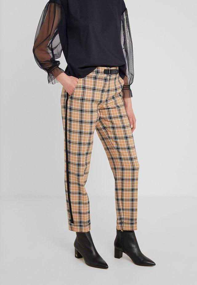 Bukse - tan patterned