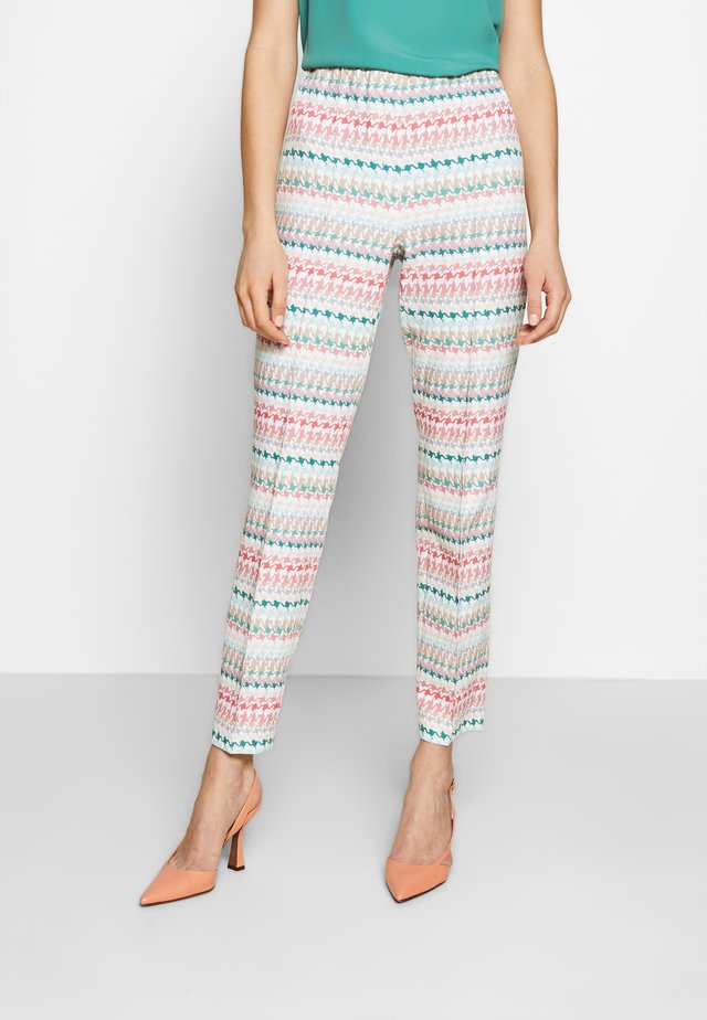 SLIM FIT - Trousers - multicolour