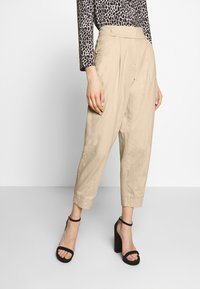 RIANI - WIDE FIT - Trousers - pale almond - 0
