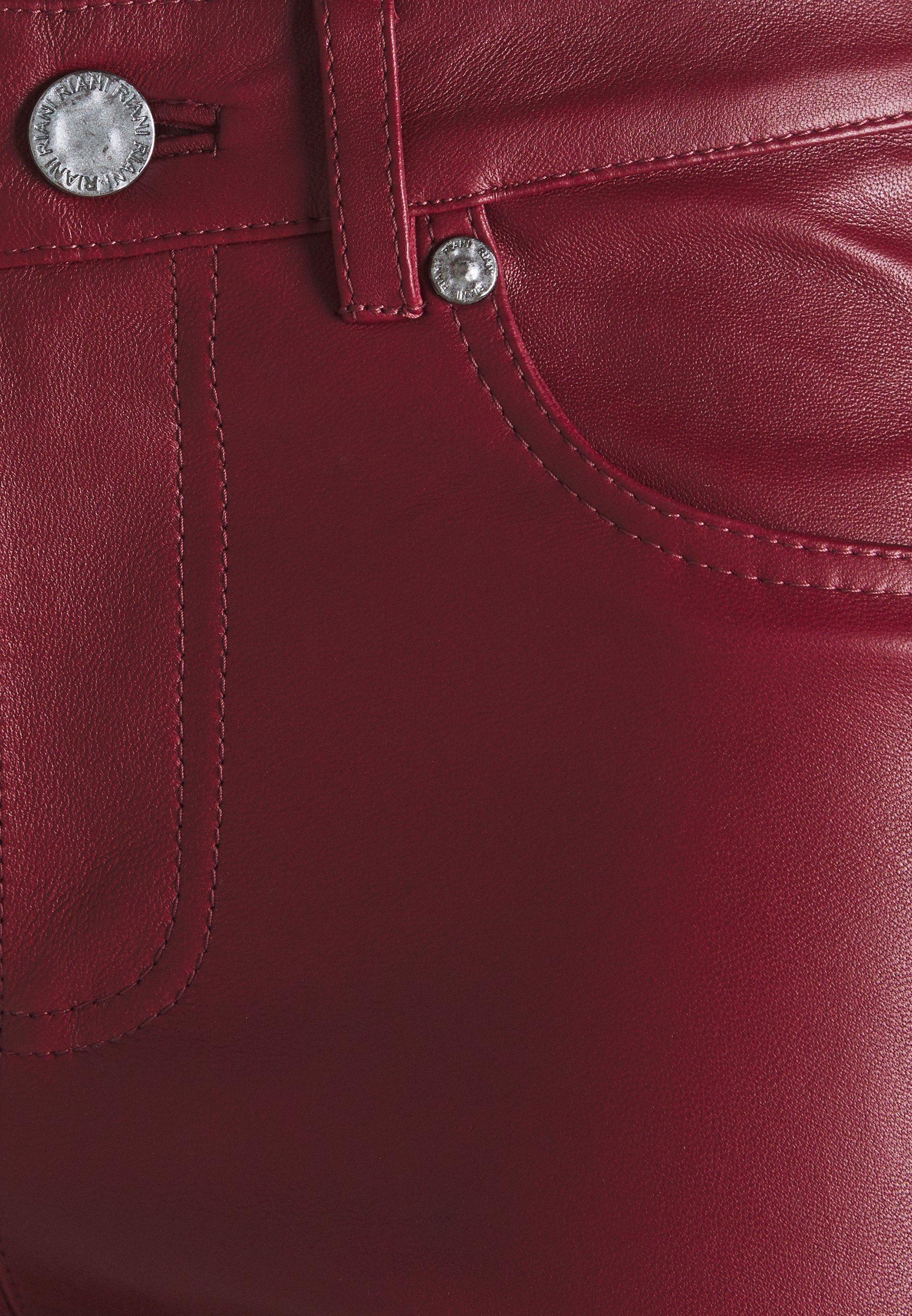 2nd Day LEYA Pantalon en cuir mocha bisque ZALANDO.FR