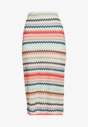 MASCHENWARE - Falda de tubo - multicolour