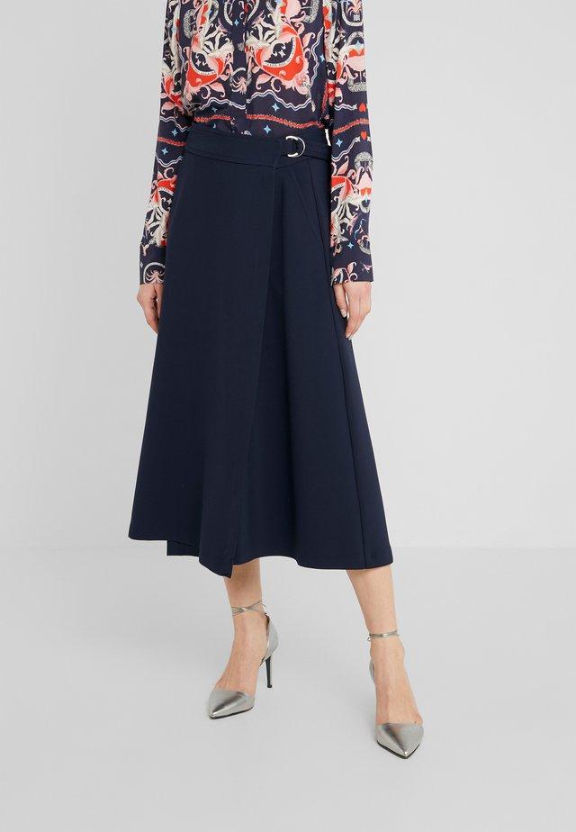 A-snit nederdel/ A-formede nederdele - deep blue
