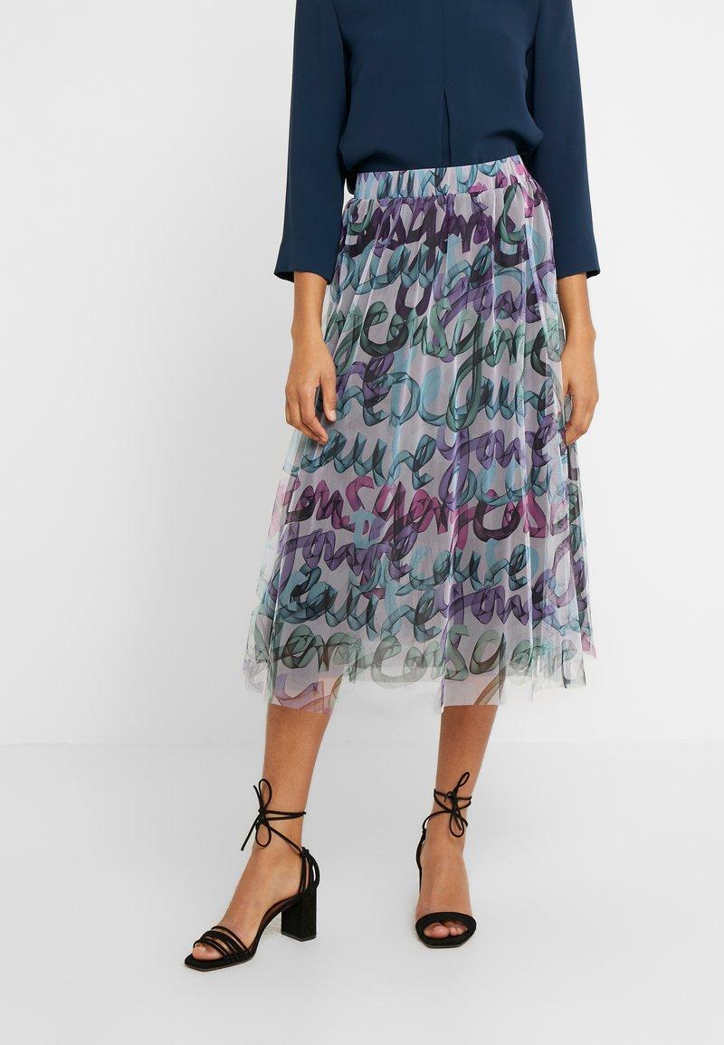 RIANI - A-line skirt - multicolour