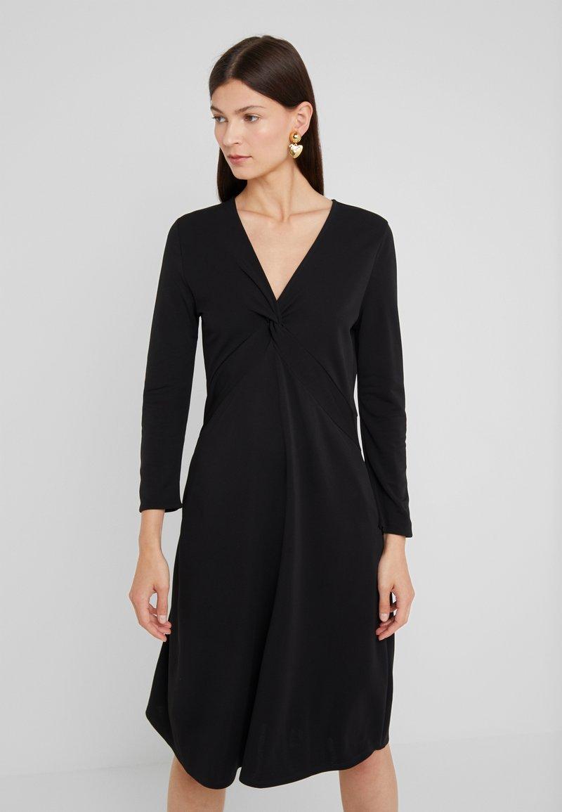 RIANI - Vestito di maglina - black