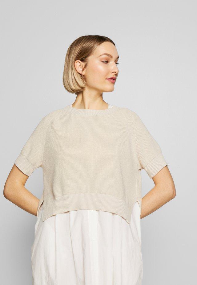 Korte jurk - ivory