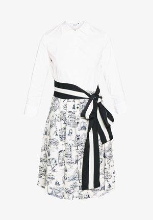 Košilové šaty - ivory patterned