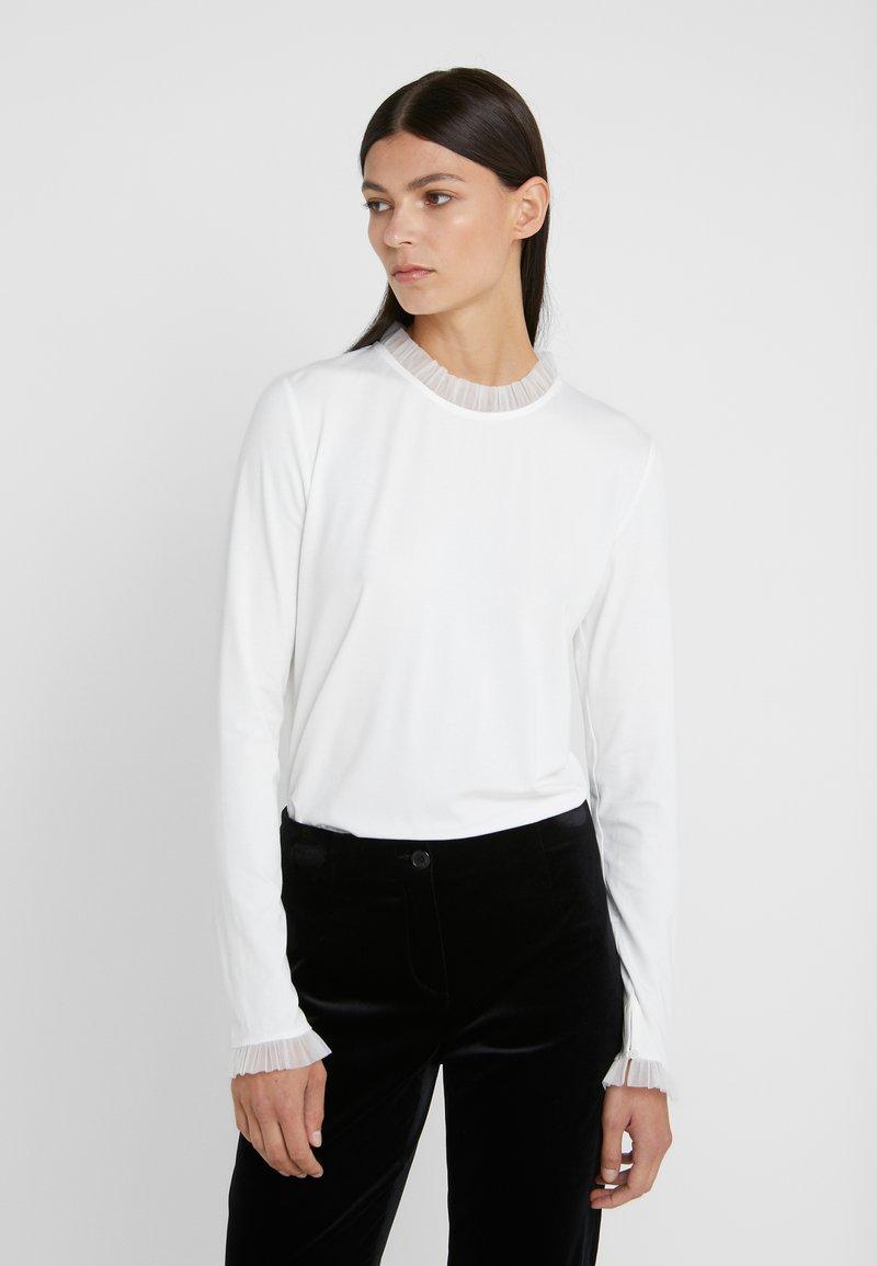RIANI - Top sdlouhým rukávem - off-white