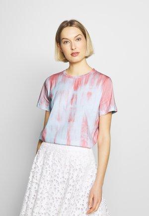T-shirts med print - sorbet