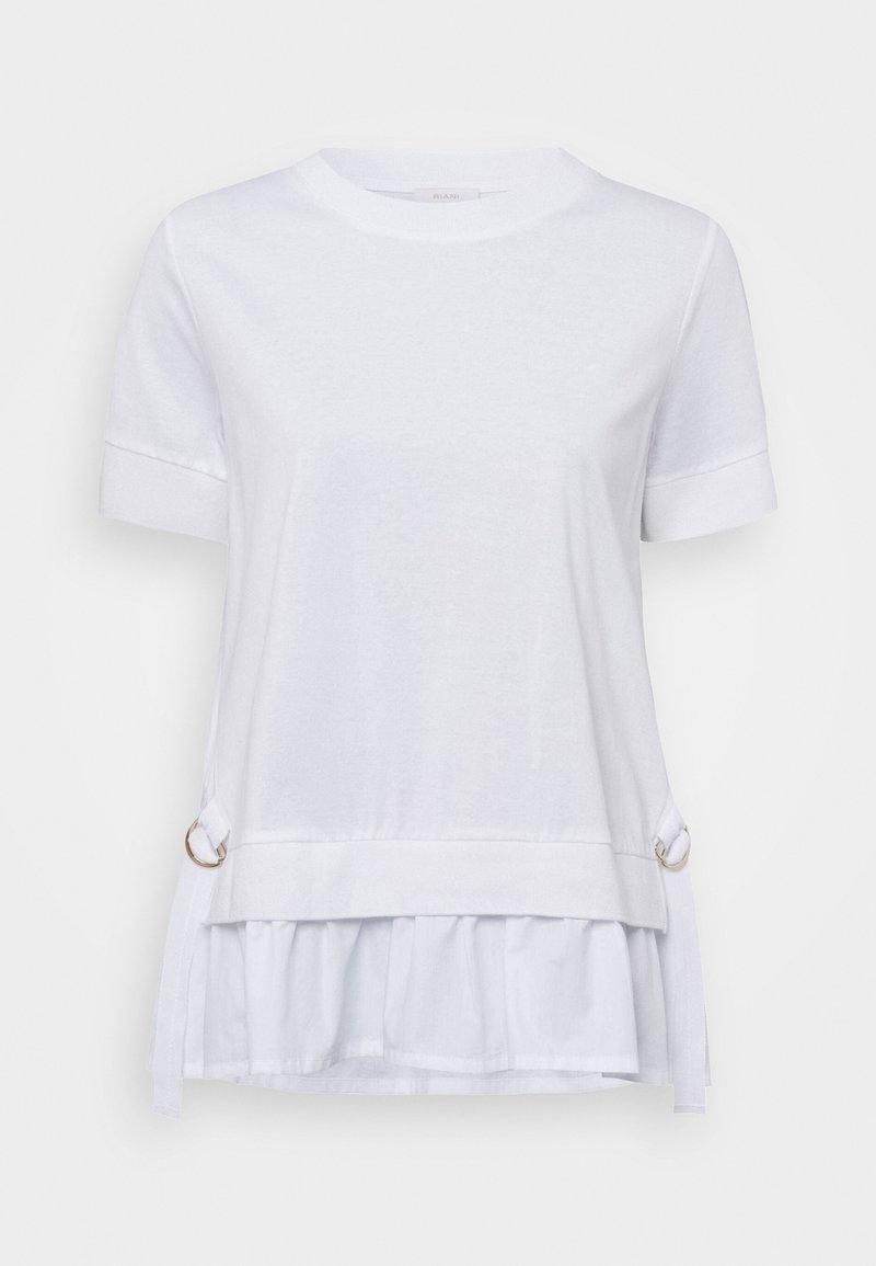 RIANI - T-shirt print - white