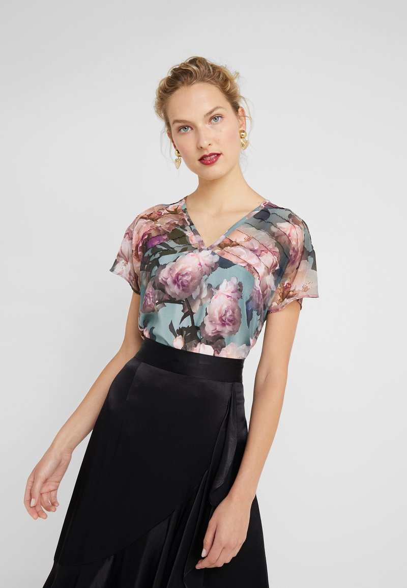RIANI - Blouse - placed patterned