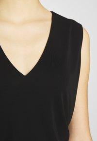 RIANI - SHIRT O-ARM - Top - black - 4