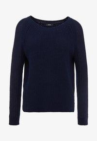 RIANI - Stickad tröja - deep blue - 3
