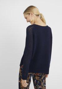 RIANI - Stickad tröja - deep blue - 2