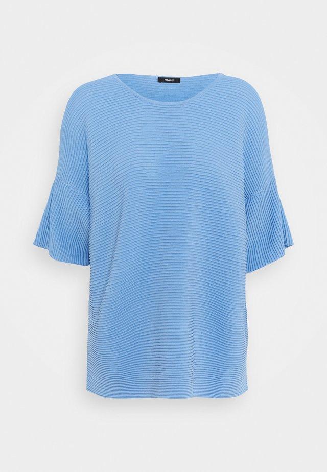 Strickpullover - azzurro