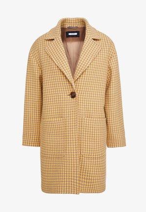 Krátký kabát - tan