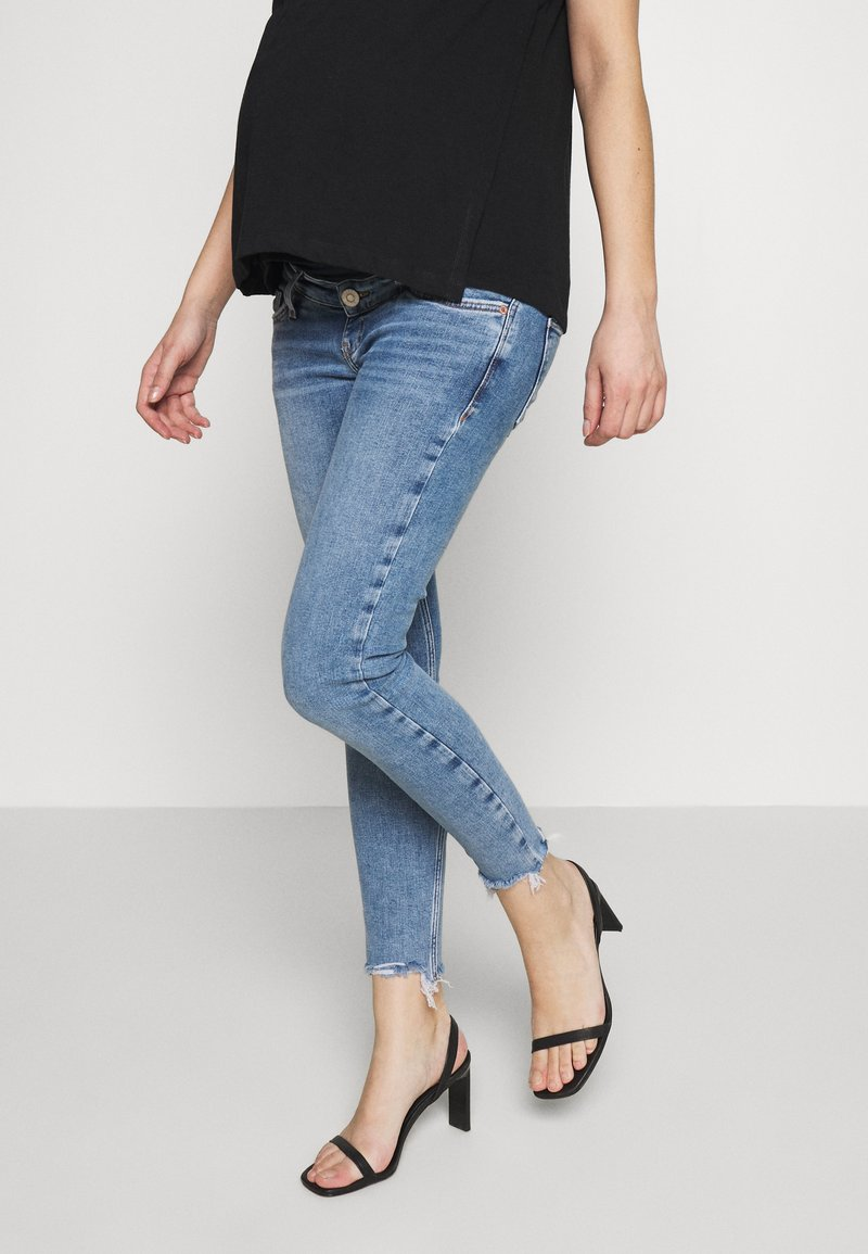 River Island Maternity - AMELIE  - Jeans Skinny Fit - mid auth