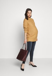 River Island Maternity - AMELIE  - Jeans Skinny Fit - dark auth - 1
