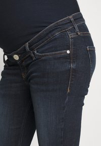 River Island Maternity - AMELIE  - Jeans Skinny Fit - dark auth - 4
