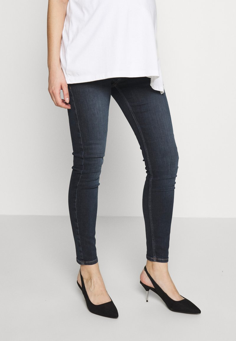 River Island Maternity - AMELIE  - Jeans Skinny Fit - dark auth