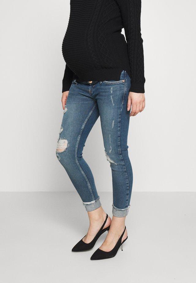 AMELIE  - Skinny džíny - dark-blue denim