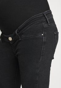River Island Maternity - MOLLY  - Jeans Skinny Fit - washed black - 3