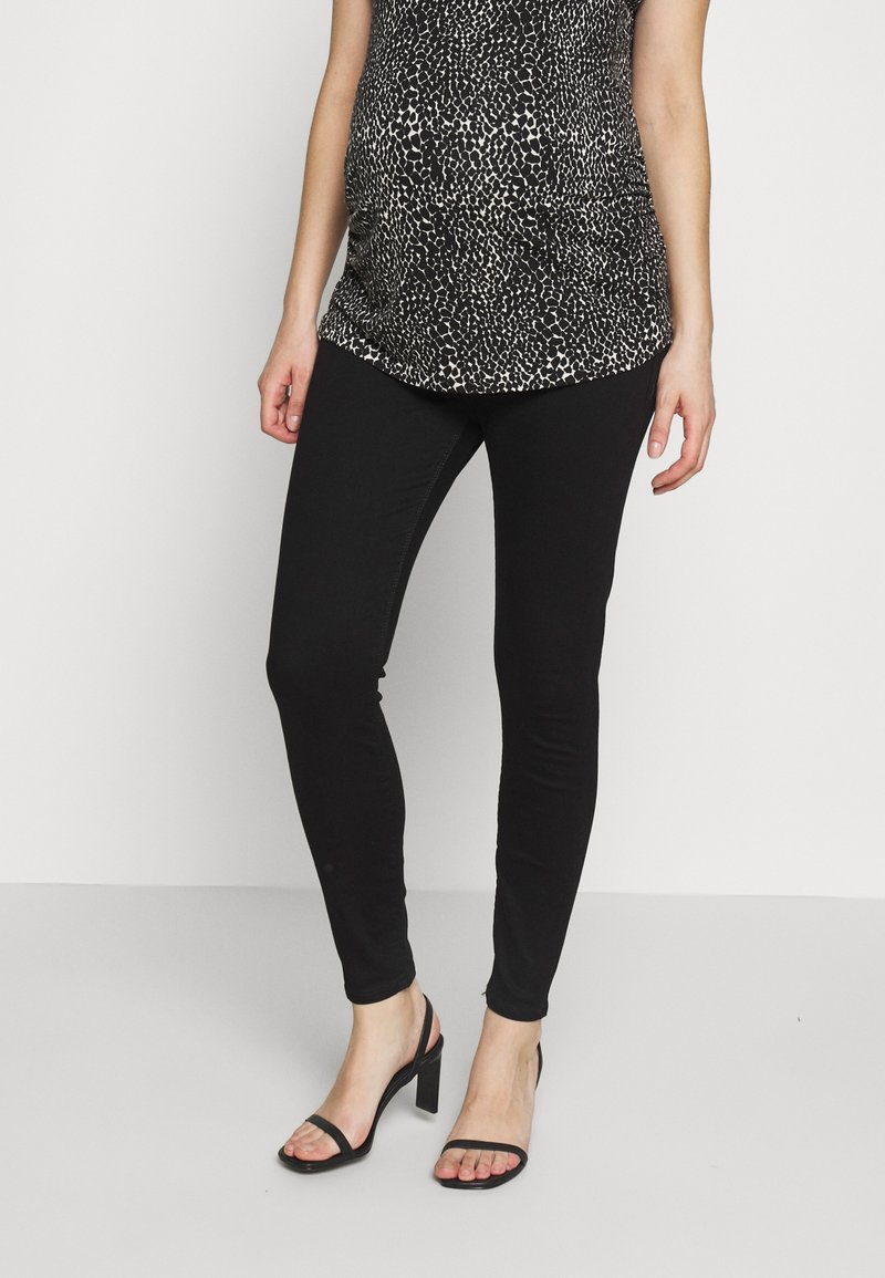 River Island Maternity - MOLLY  - Jeans Skinny Fit - black