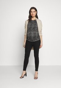 River Island Maternity - MOLLY  - Jeans Skinny - black - 1