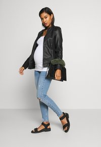 River Island Maternity - MOLLY  - Jeans Skinny Fit - light-blue denim - 1