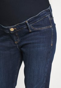 River Island Maternity - MOLLY  - Jeans Skinny Fit - dark auth - 4