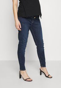 River Island Maternity - MOLLY  - Jeans Skinny Fit - dark auth - 0