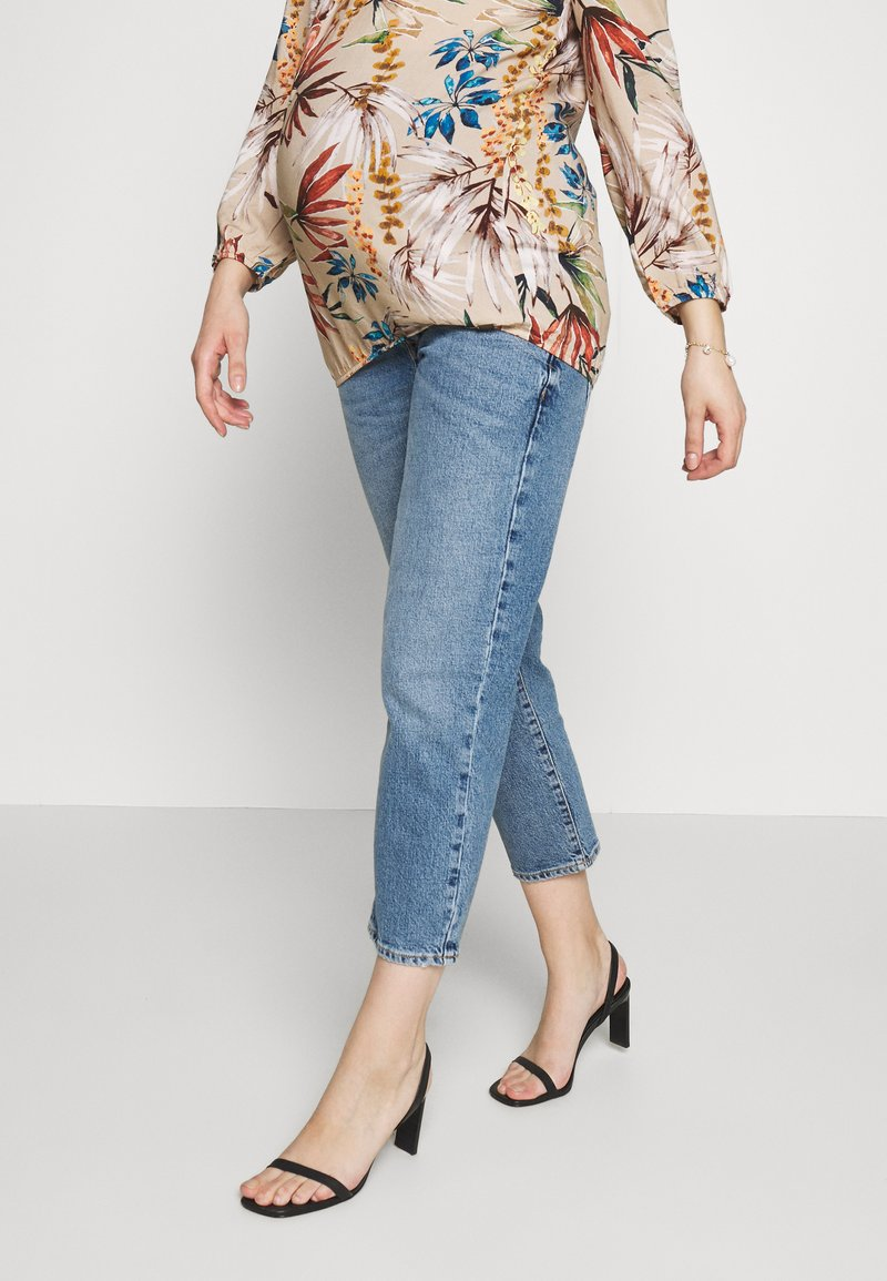 River Island Maternity - Jeans Skinny Fit - dark-blue denim