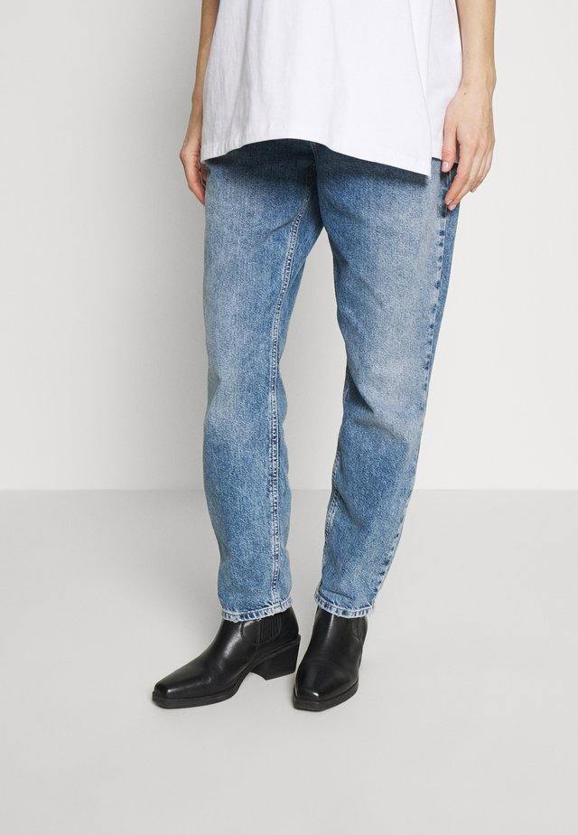Jeans relaxed fit - dark-blue denim