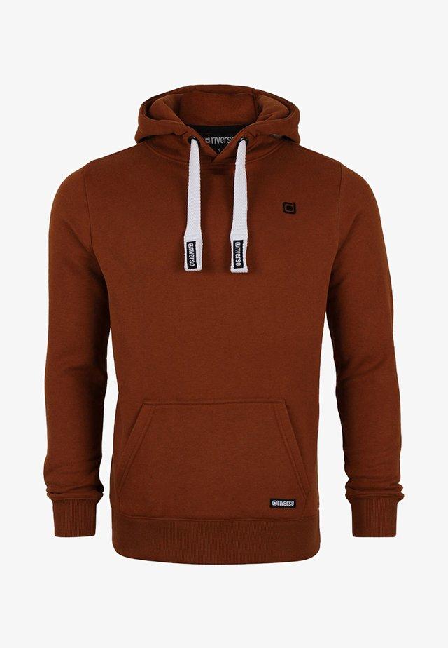 MIT KAPUZE  - Hoodie - tawny brown