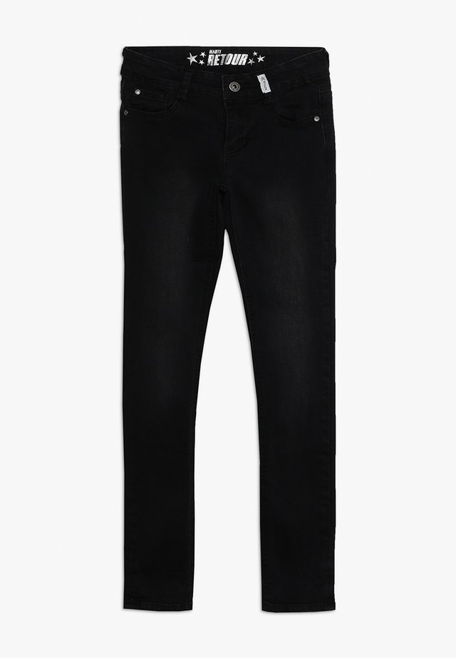 BOWIEN - Jeans Skinny Fit - black denim