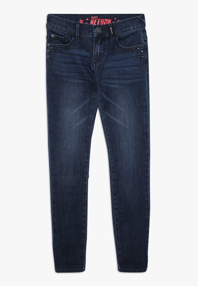 LUUS - Jeans Skinny Fit - dark blue denim
