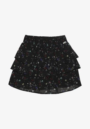 YELKA - Áčková sukně - black