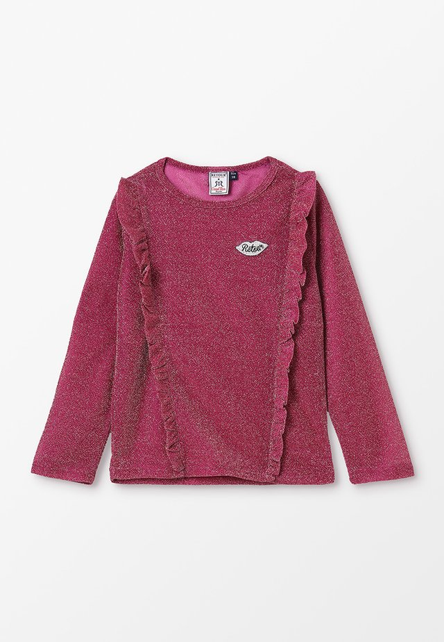 KOOSJE - Long sleeved top - strawberry pink