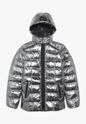 ROMY - Zimní bunda - silver