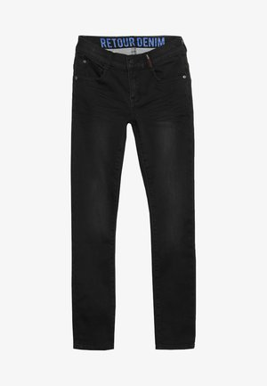 SANDER - Slim fit -farkut - black denim