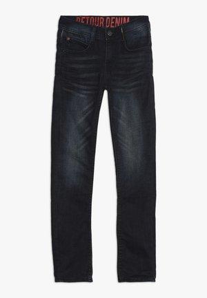 KELTO - Straight leg jeans - vintage blue denim